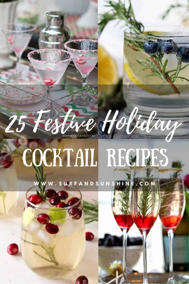 25 Festive Holiday Cocktail Recipes