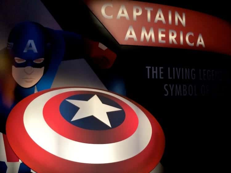 CAPTAIN AMERICA The Living Legend and Symbol of Courage 3