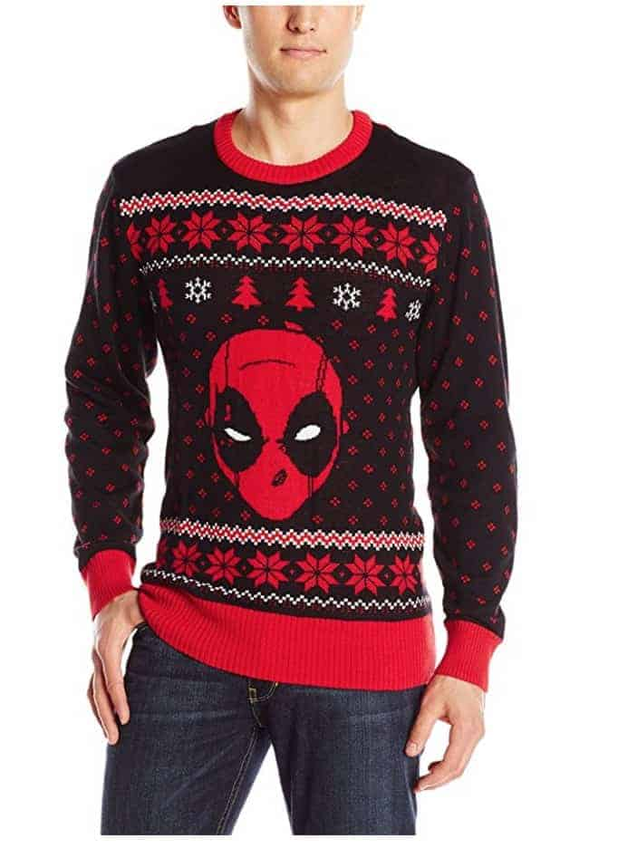 best ugly christmas sweaters spider man spiderman