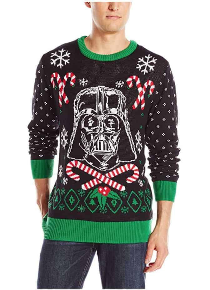 best ugly christmas sweaters star wars darth vader