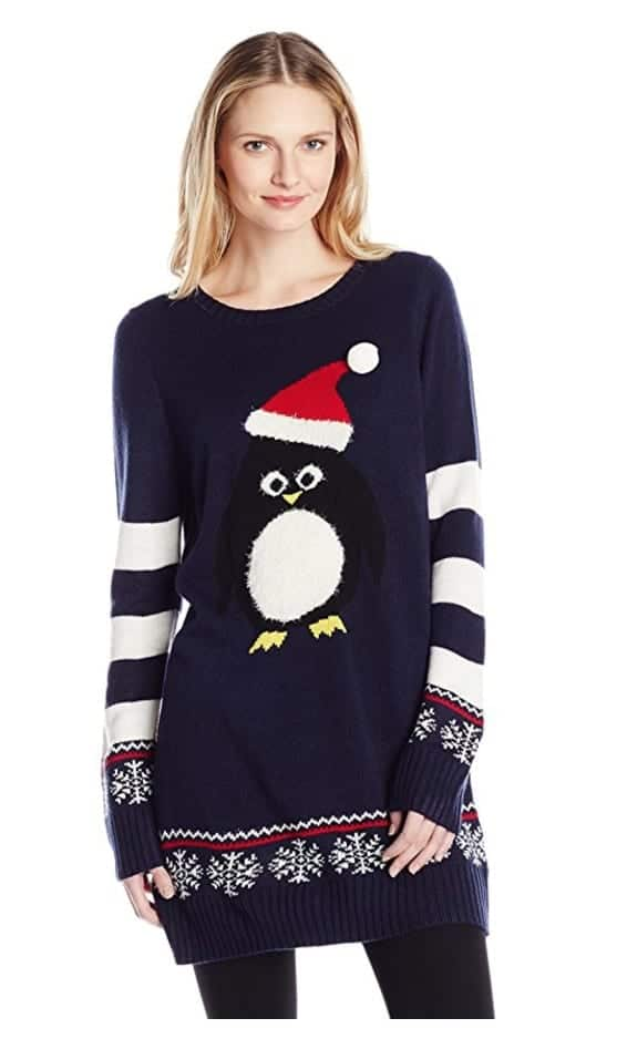 best ugly christmas sweaters penguin