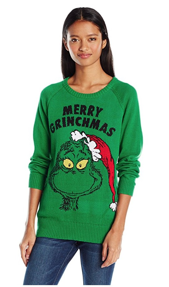 best ugly christmas sweaters grinch