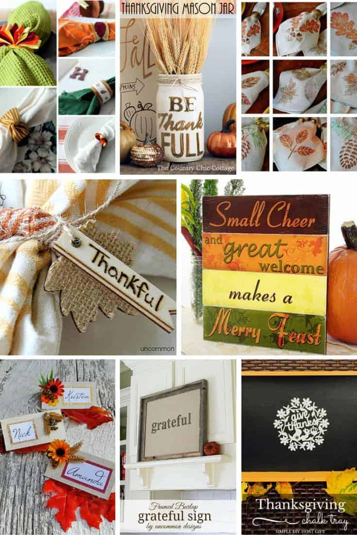 10 DIY Thanksgiving Projects for Your Home and Table