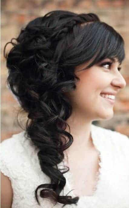 Wedding Hairstyle by Lindsey Shaun Photography