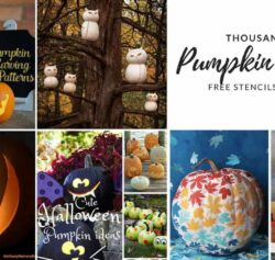 1000s of Printable Free Pumpkin Carving Stencils