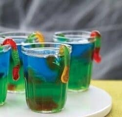 Halloween Jello Worms is a super easy to make, cool, slimy treat that your boys and ghouls are sure to enjoy!