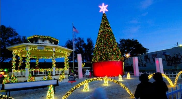 christmas in grapevine texas