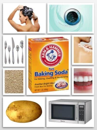 baking soda uses for beauty and home