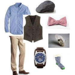 The Spring Groomsman: An Outfit Perfect For a Rustic Wedding