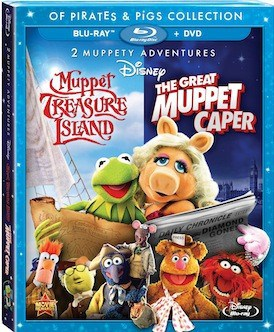 The Great Muppet Caper And Muppet Treasure Island