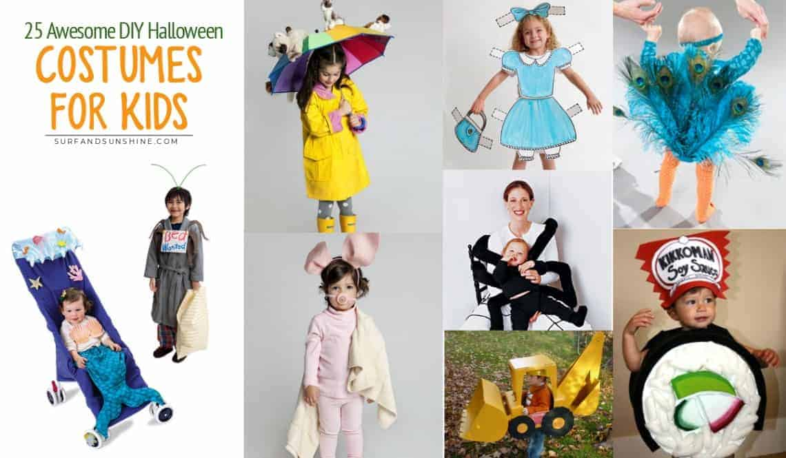 25 of the Best DIY Halloween Costume Ideas for Kids