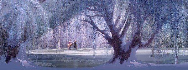 """""""FROZEN"""" concept art. ©2013 Disney. All Rights Reserved."""