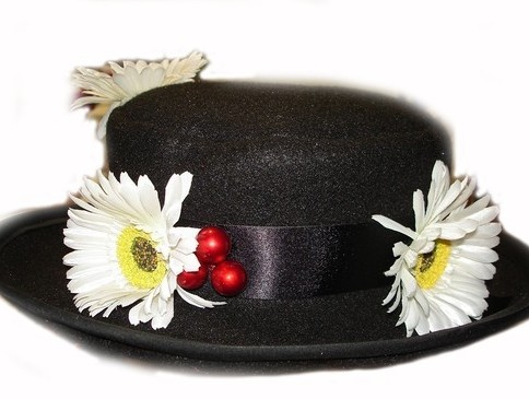 DIY Mary Poppins Costume hat