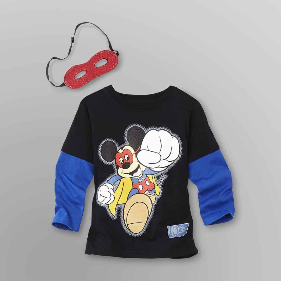 super mickey tee and mask