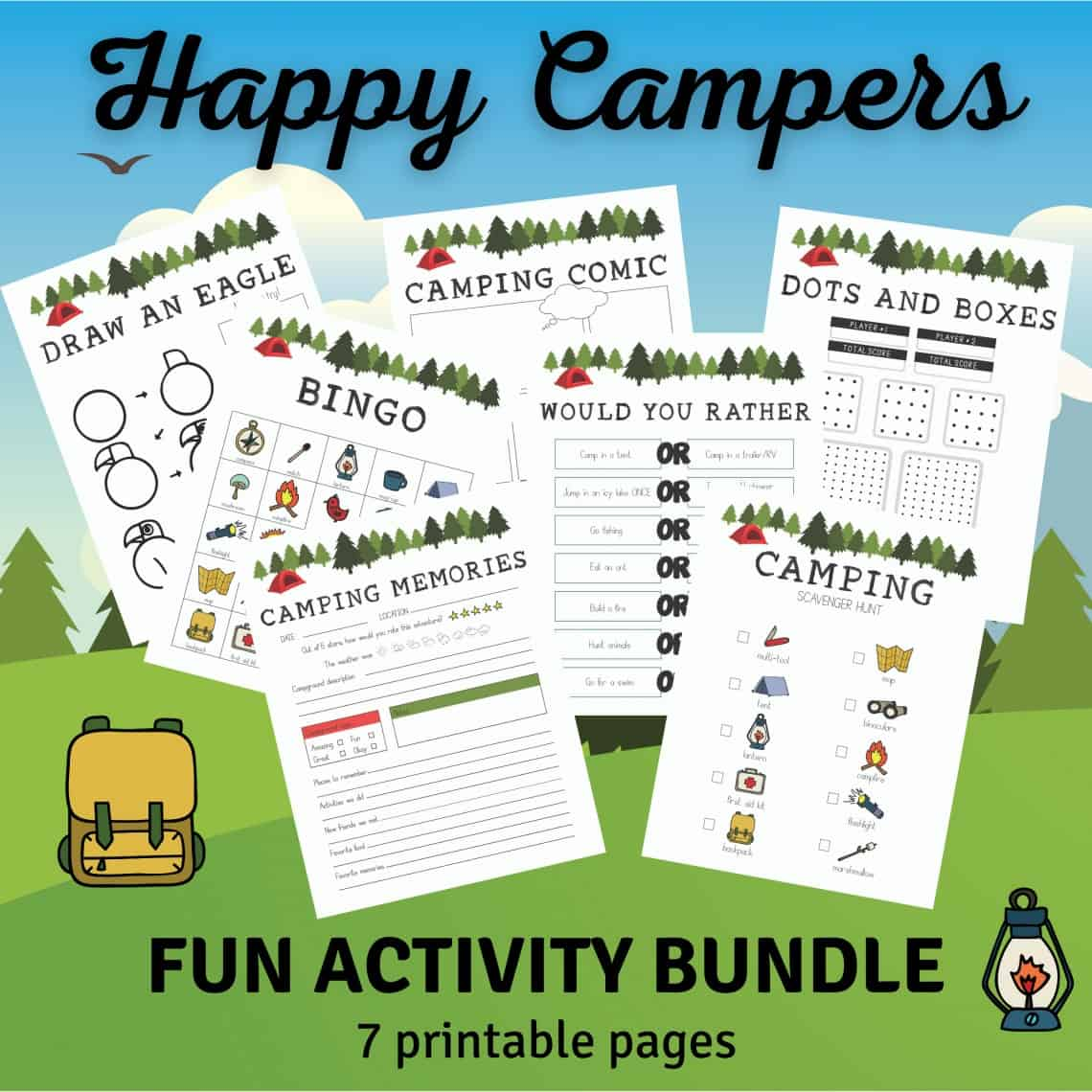 Camping Bundle included PIN