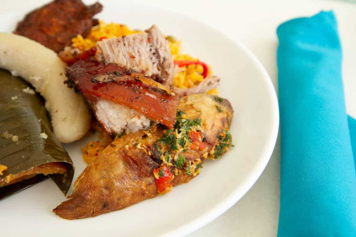 Puerto Rican lunch by Chef Raul Correa