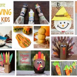 14 Really Awesome DIY Thanksgiving Crafts for Kids