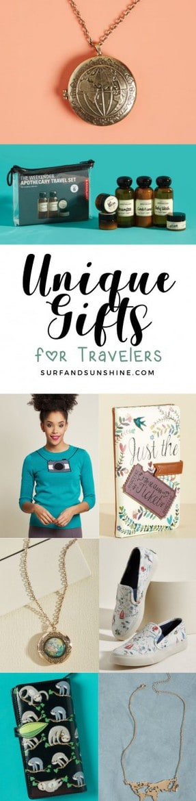 12 Funky and Unique Gifts That Will Steal the Travel Lover's Heart