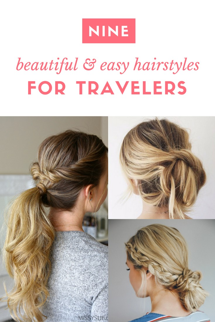 easy beach hairstyles for travelers