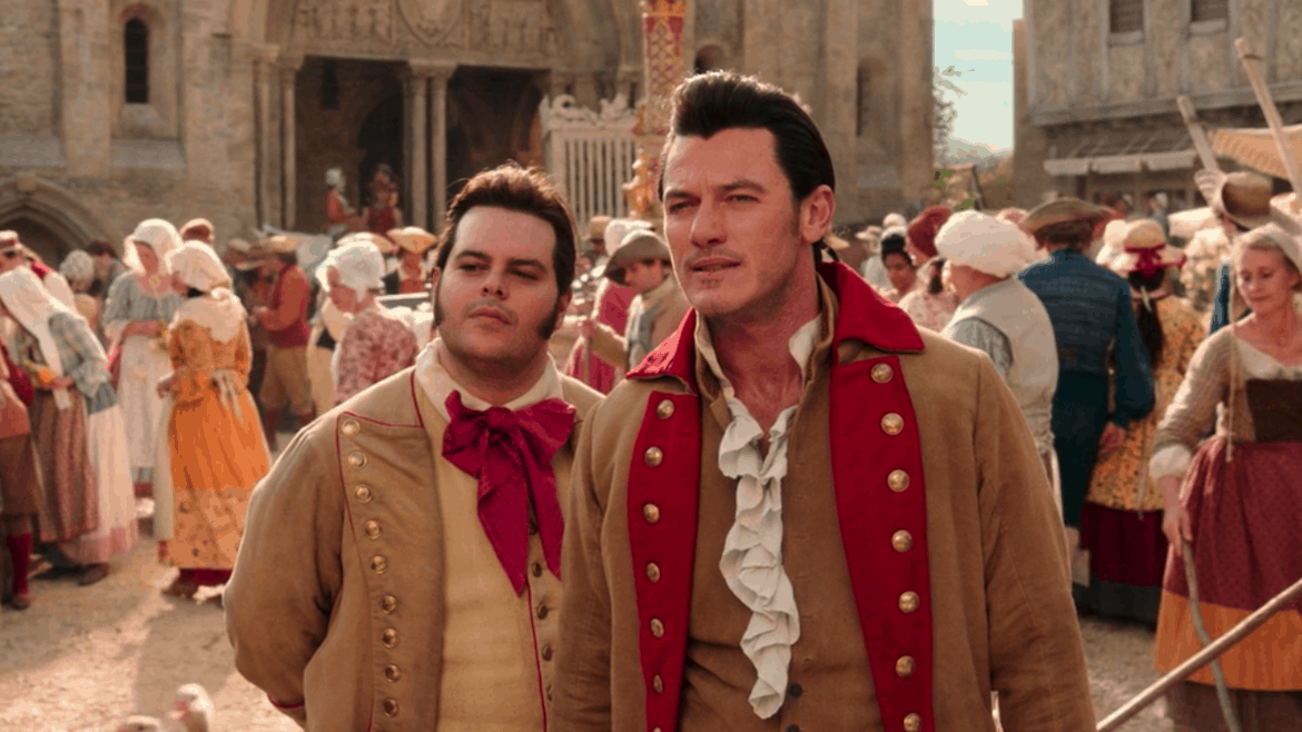 beauty and the beast gaston 2017