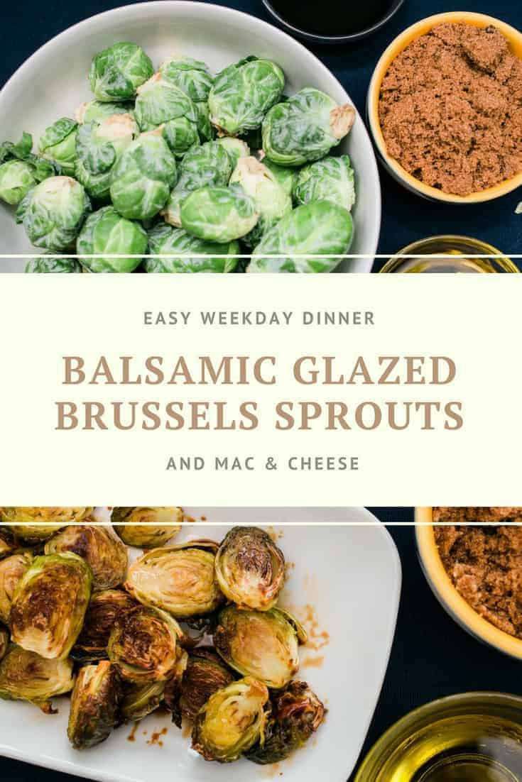 Balsamic Glazed Brussels Sprouts Recipe