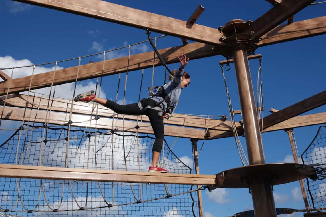 NCL Getaway Ropes Course
