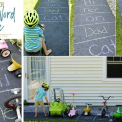 Easy Sight Word Parking Lot Game
