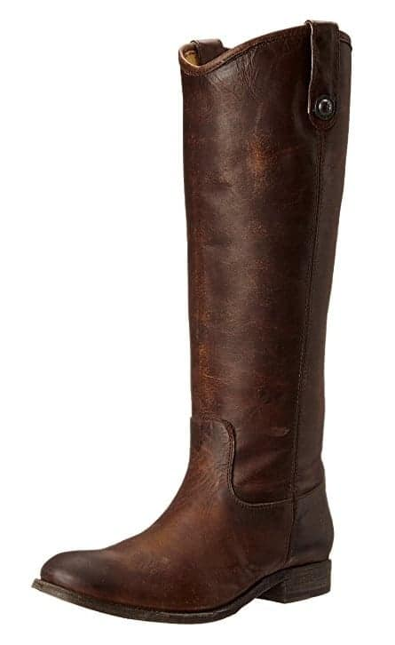 brown hand crafted pull on riding boots by FRYE trendy boots for fall