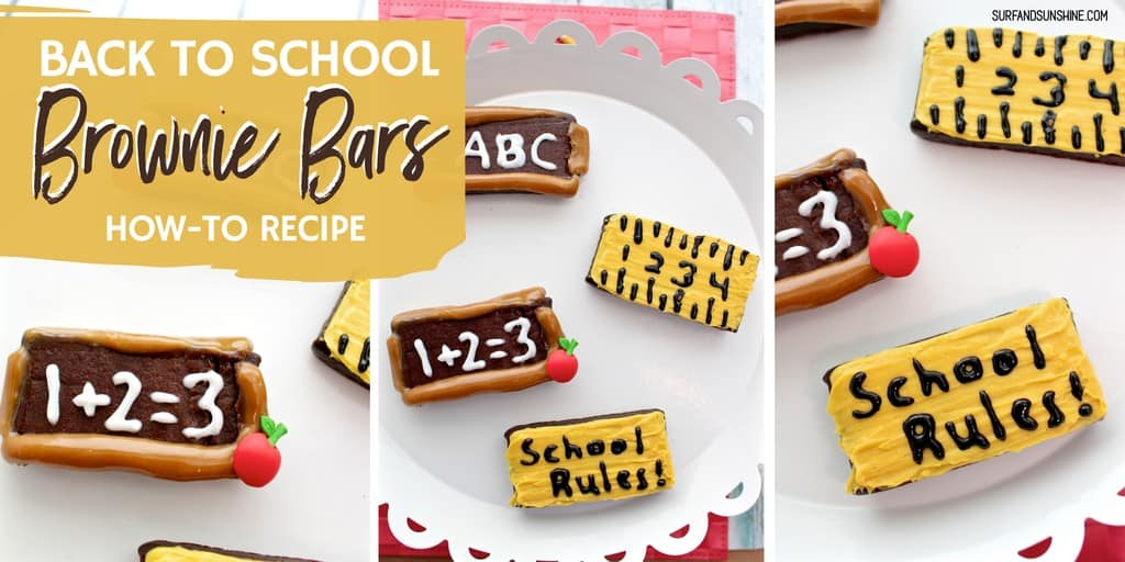 back to school brownie bars twitter and facebook