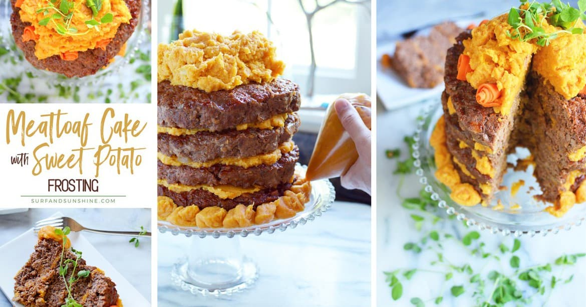 meatloaf cake recipe with sweet potato frosting