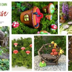 DIY Fairy House Inspiration Plus Everything You Need To Make Your Own