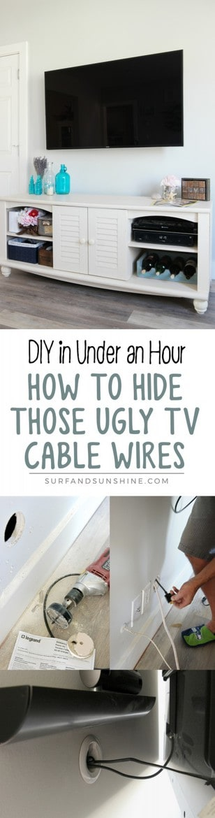 diy in wall cable management system