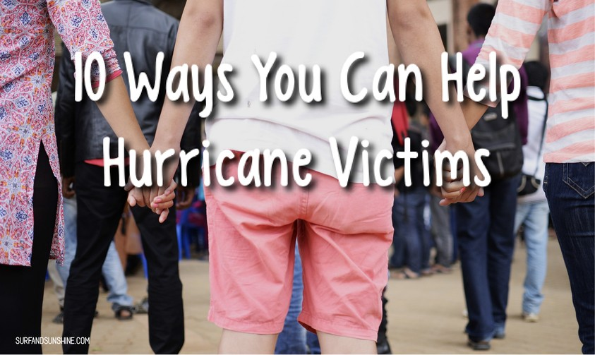 how to help hurricane victims