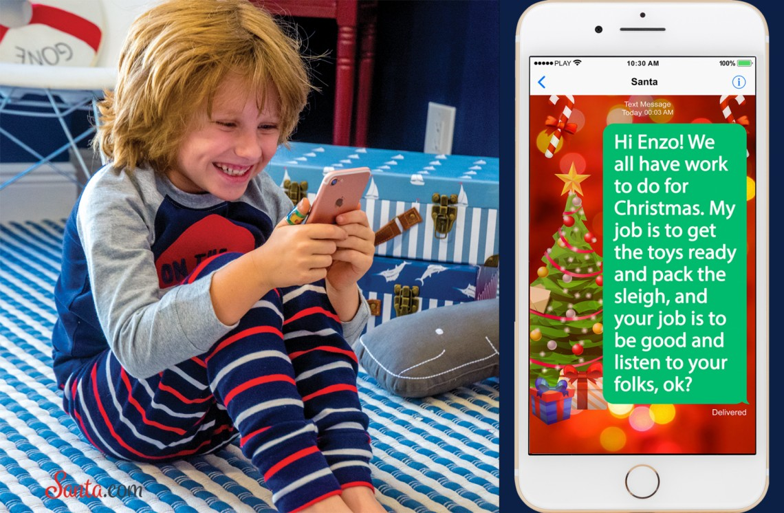 Text Messages from Santa