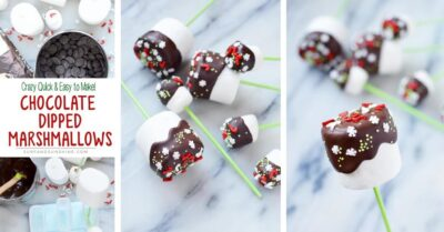 christmas chocolate dipped marshmallows twitter
