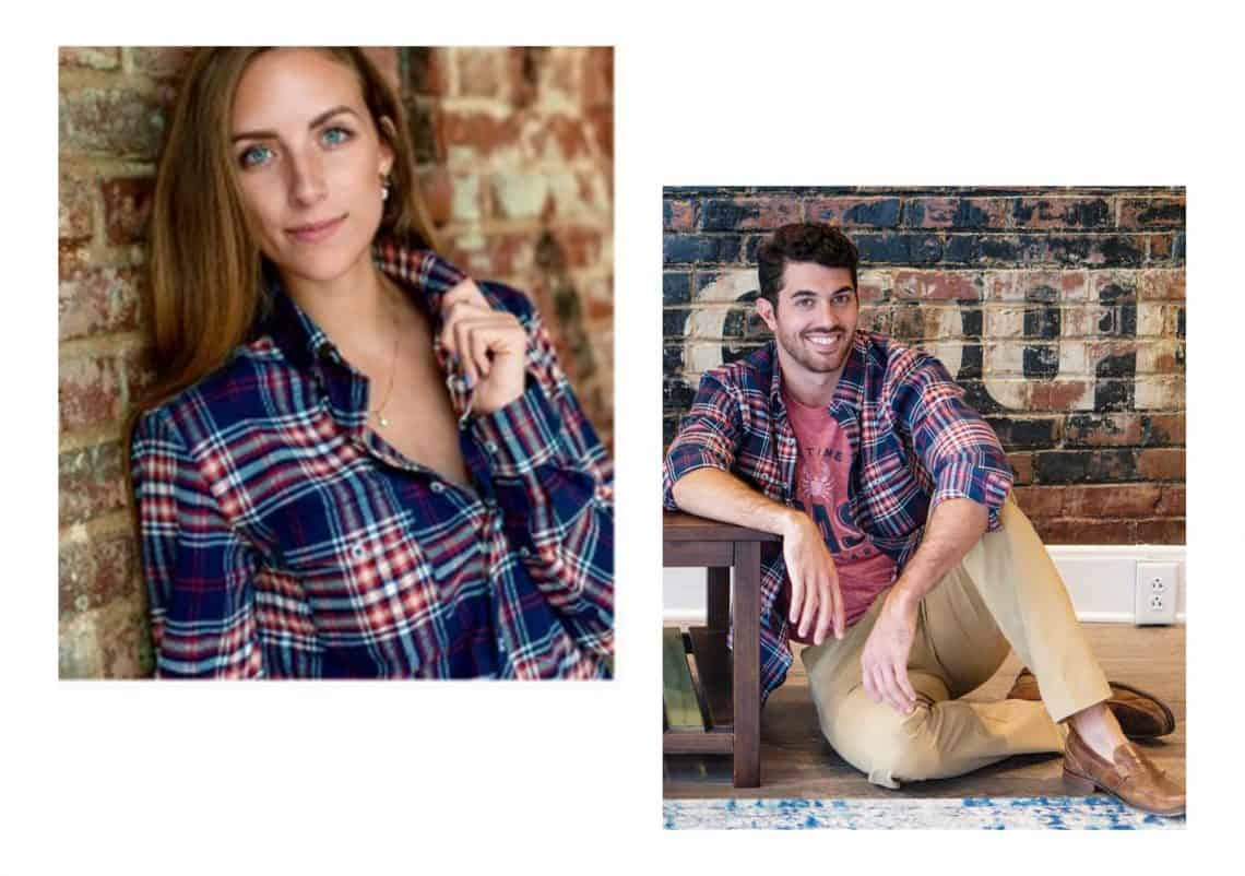 flannel shirt collage