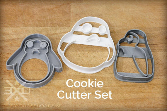 Gift Ideas for Star Wars The Last Jedi Fans porg cookie cutter set