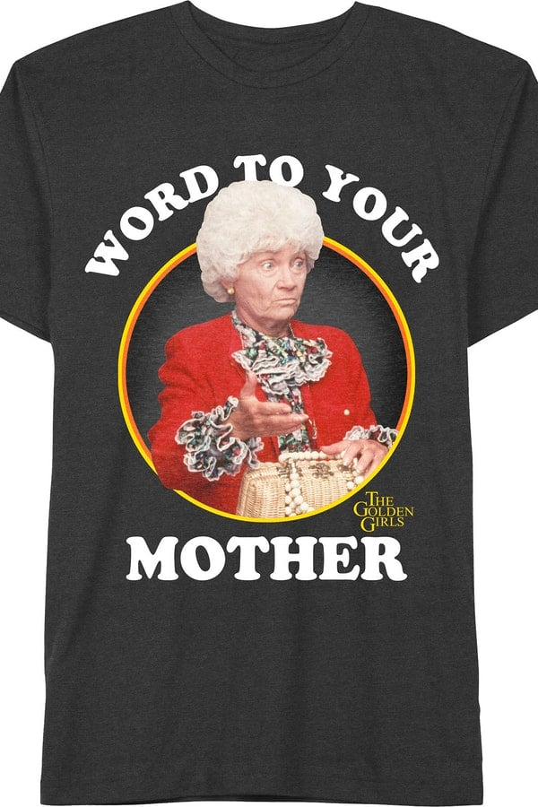 Funny 80s T Shirts Golden Girls