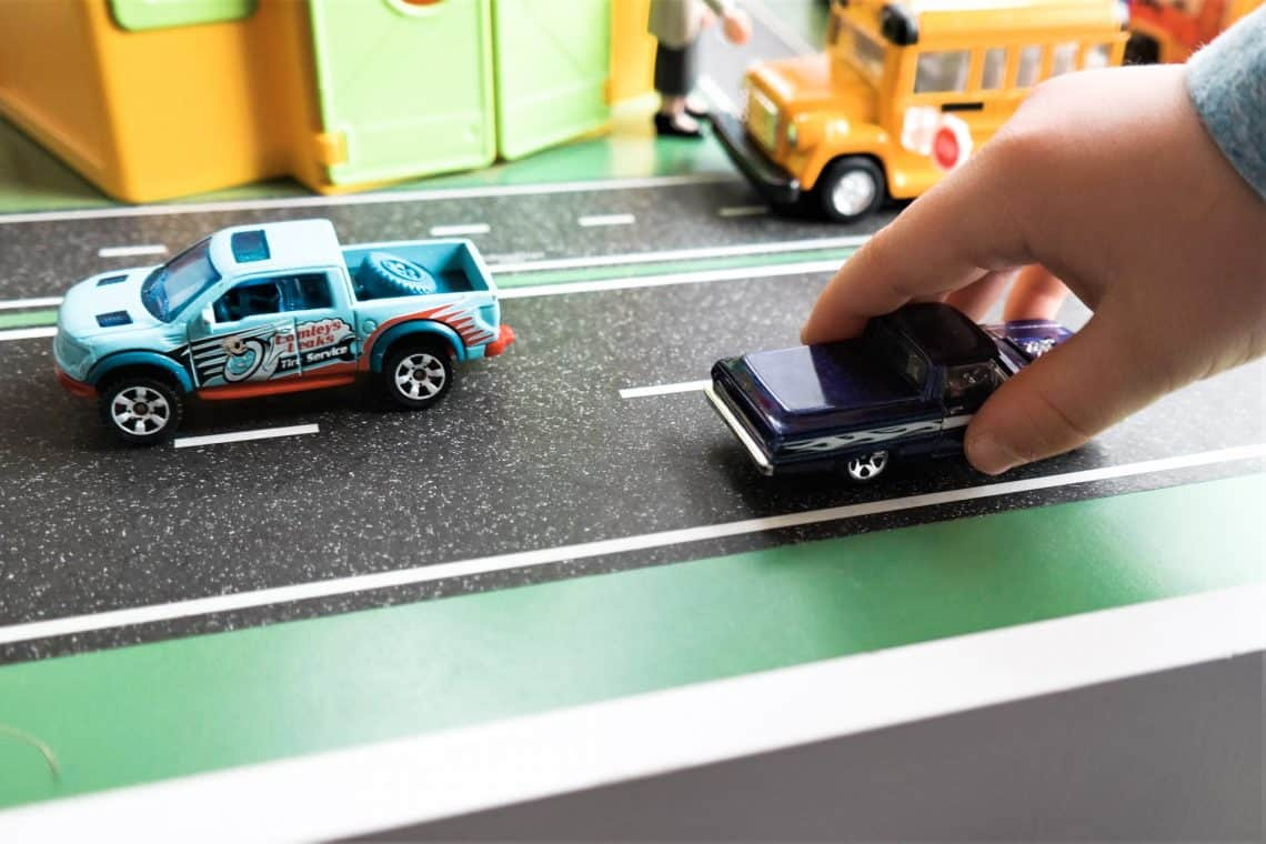 playtape for toy cars