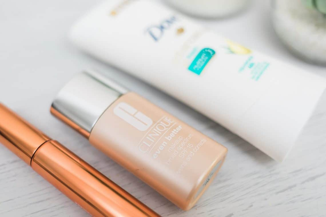 hot weather beauty tips with spf foundation and deodorant