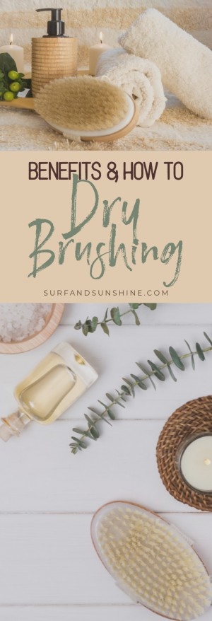 what is dry brushing