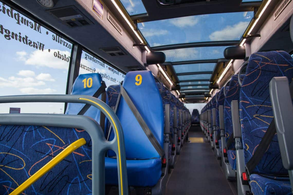 why take the bus instead of a plane