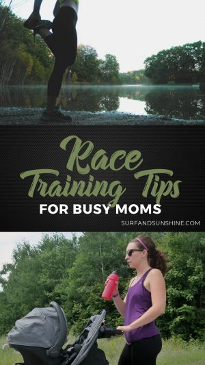 race training tips for busy moms