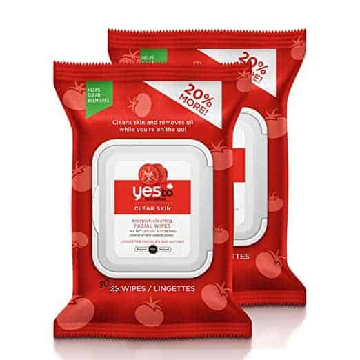 tomato cleansing wipes