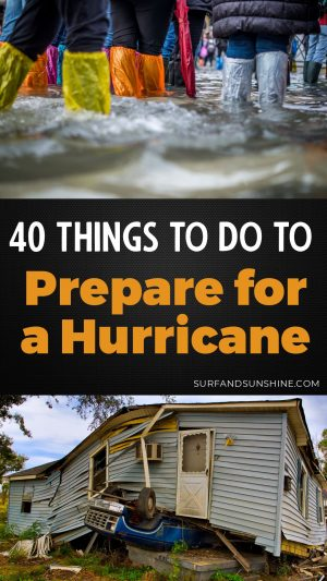 how to prepare for a hurricane checklist instagram stories