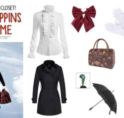 Make An Awesome DIY Mary Poppins Costume From Your Closet