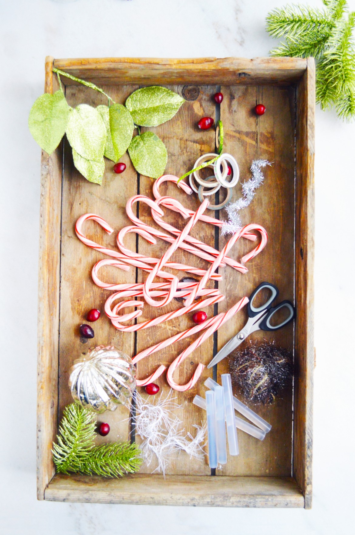 Holiday candy cane place card holders SHARED 2