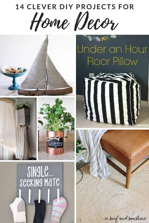 14 clever diy for home decor projects PIN