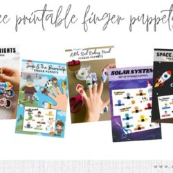 6 Free Printable Finger Puppets for Kids
