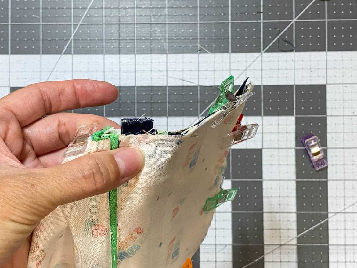 Two Zip Coin Purse Sewing Tutorial with Keyring